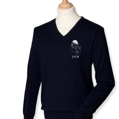 V-Neck Jumper- Jed Forest Hunt