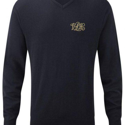 V-Neck Knitted Pullover