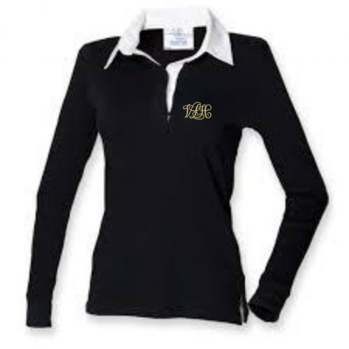 Ladies Long Sleeve Rugby Shirt